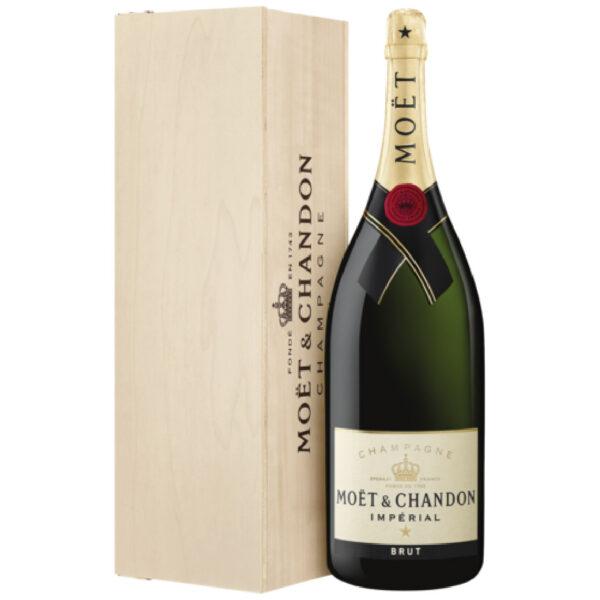 Moet & Chandon Imperial Magnum in kist | Heeren van de Wijn