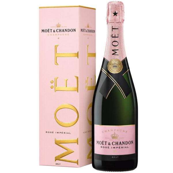 Moet & Chandon Rose Brut Imperial in giftbox   Heeren van de Wijn