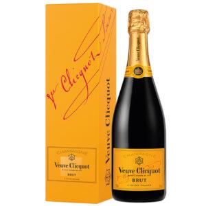 Veuve Clicquot Brut (Carte Jaune) Champagne in designbox | Heeren van de Wijn