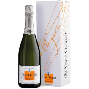 Veuve Clicquot Demi-Sec Champagne in giftbox